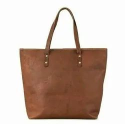Women Brown Womens leather bag