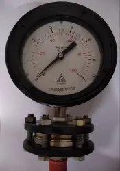 H. Guru Sealed Diaphragm Pressure gauge