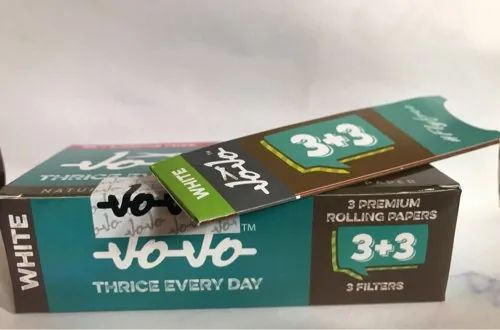 Jojo Pre Rolled Paper Cones & jojo3+3 Rolling Paper And Filters by