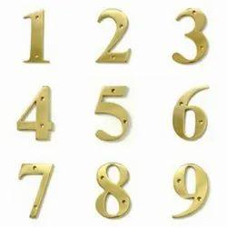 Brass I-216 Screw Fix Numerals