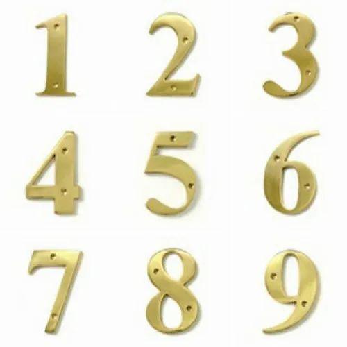 I-216 Screw Fix Numerals