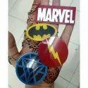 Customized Superhero Keychains