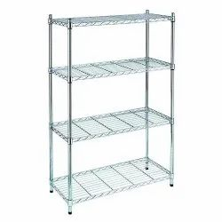 4 Shelves Stainless Steel Rack