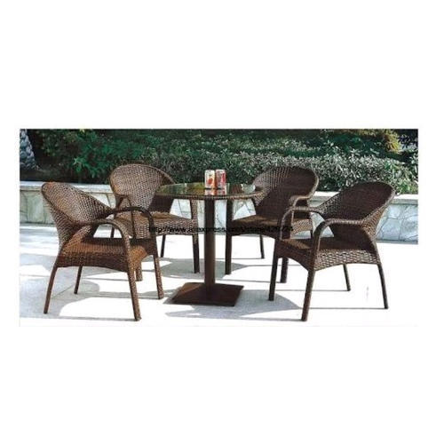 Wicker Brown Balcony Chairs And Table Rs 16000 Set Wicker 99 Id