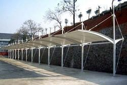 Designer Car Parking Sheds