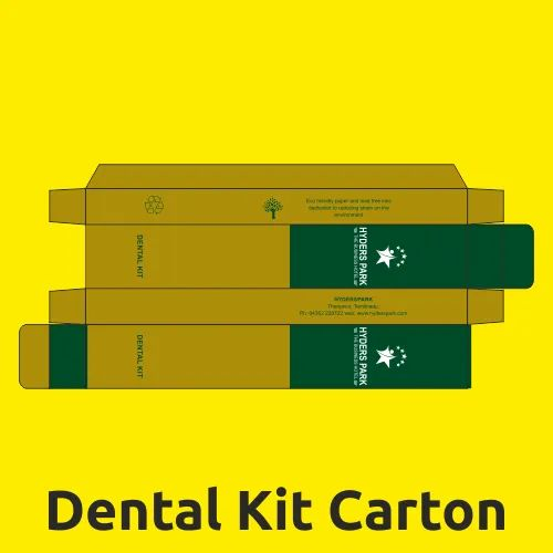 Hotel Dental Kit Carton