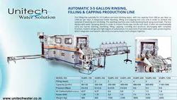 Automatic 20 Liter Jar Washing Filling Capping Machine