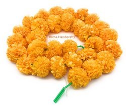 Original Look Plastic Marigold Flower Decoration Strings