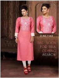 Full Sleeves Ladies Designer Kurtis