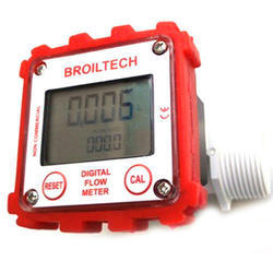 Plastic Flow Meter Display