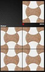 Ceramic Digital Fontana Tiles, For Parking Tiles, Size: Medium