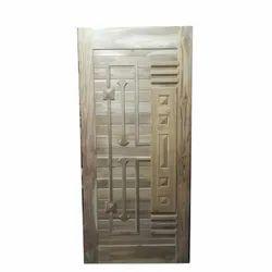 Krishna Overseas Glossy Decorative Fancy Wooden Door