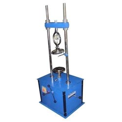 Unconfined Compression Test Apparatus Manually Operated