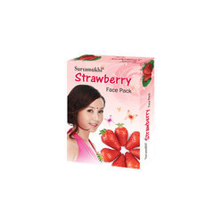 Suryamukhi Strawberry Face Pack, Pack Size: 100-500 g