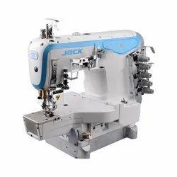 Jack Sewing Machine K4-D Interlock Flatbed Machine, Automation Grade: Automatic, Automatic Grade: Automatic