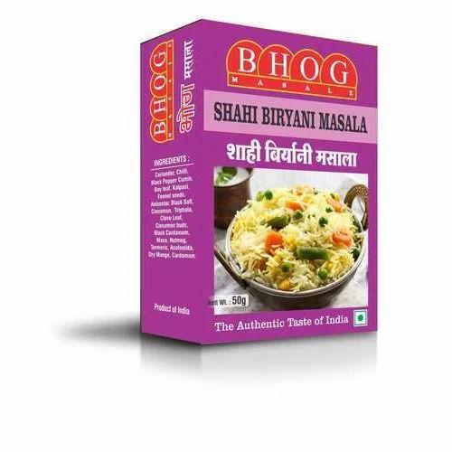 Biryani Masala - Shahi Biryani Masala Manufacturer from Mumbai