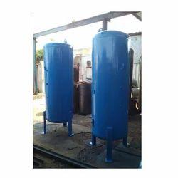 Blue Stainless Steel,Mild Steel Air Receiver