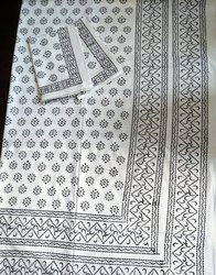 Hand Block Print Double Bed Sheets