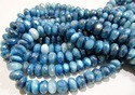 Natural Blue Topaz Color Moonstone Beads