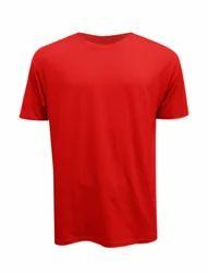 Cotton Round Neck Plain T Shirt, Size: S-XL