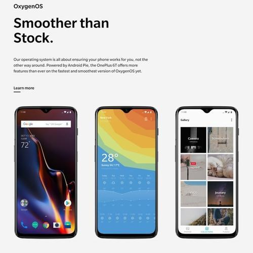 OnePlus 6T, 8GB 128GB Smartphone, 2 Back Cameras, Face Unlock & Screen  Fingerprint ID, 6 41 Inch, 4G