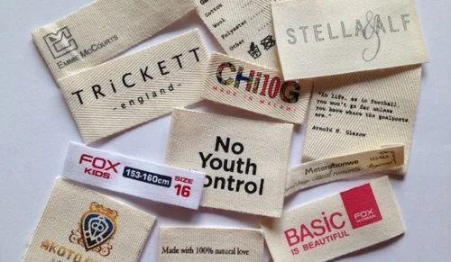 Custom Cloth Labels कपड़े का लेबल H R P Enterprises