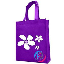 Purple Stylish Non Woven Bag