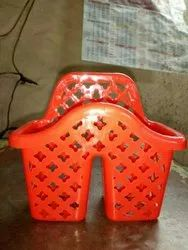 Plastic Toothpaste Stand for Home