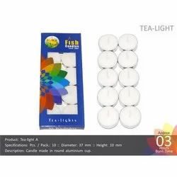 Tea-Light 10-10 Candles