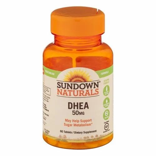 Sundown Naturals DHEA 50mg, Treatment: Sugar Metabolism