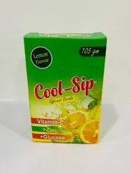 Cool Sip Lemon  Energy Drink Powder