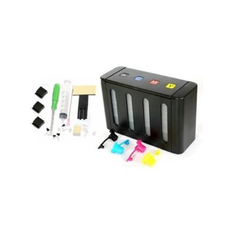 Empty CISS With Accessories For Hp And Canon Inkjet Printers (Black Body)