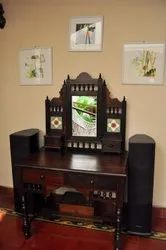 Eagle Handicrafts Wooden Dressing Table for Home