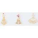 Gold Foldable Earrings