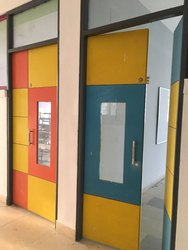 Lushwood Brown School Doors