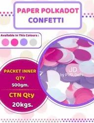 Party Paper Polka Confetti  (20 KG)