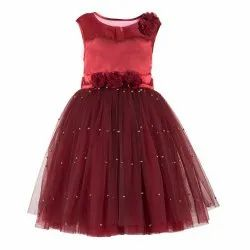 Party Wear Pearl embellishment Summer New Arrivals For Toddlers
