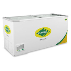WHF425G Glass Top Deep Freezer