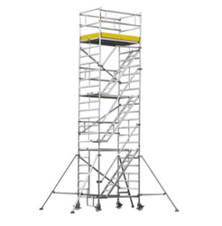 SKL Aluminum Scaffolding with Staircase Ladder