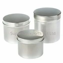 200ml  Aluminum Storage Canisters