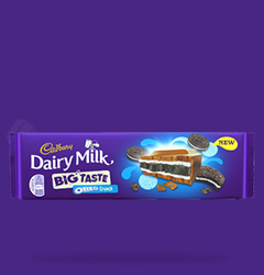 Big Taste Oreo Crunch Cadbury Chocolate