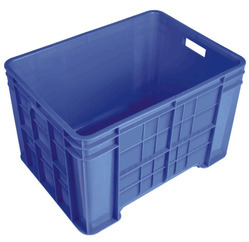 Plastic Crate 53342 CL
