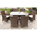 Oval Shape Living Dining Table