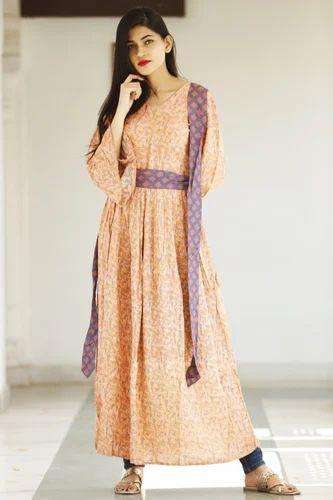 0d45379456e Girls Reyon Frock Style Summer Dress