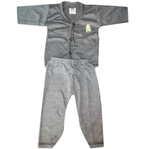 969a906c4ec3 Boys Black And Grey Kids Thermal Suit