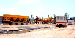 Stationary Asphalt Hot Mix Plant