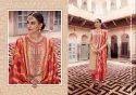 Banarasi Chanderi Silk Unstitched Material for Women