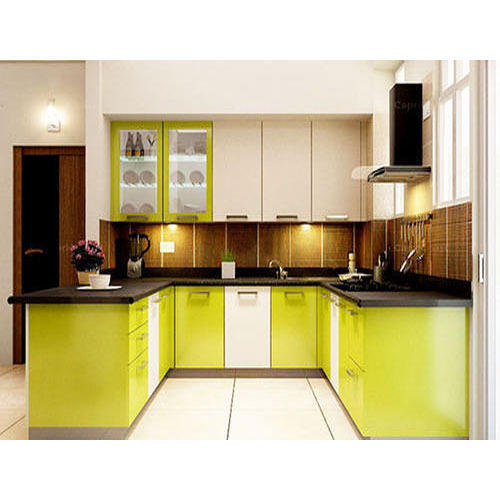 U Shaped Modular Kitchen At Rs 1350 Square Feet U Shape Modular Kitchen Id 15669796288