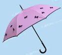 Beautiful Pink Color Bow Umbrella