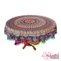 Cotton Tablecloth, Size: 165 Cm